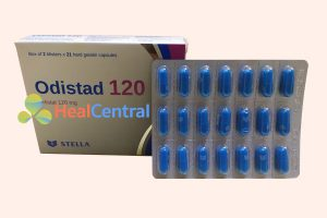 Hộp thuốc Odistad 120