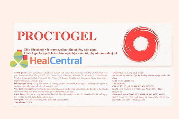 Hộp thuốc Proctogel