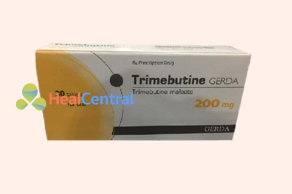 Hộp thuốc Trimebutin 200mg