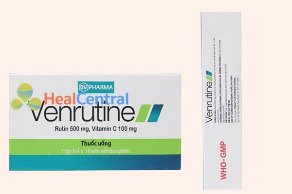 Hộp thuốc Venrutine