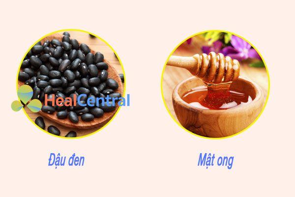 Mật ong và đậu đen chữa bệnh trĩ