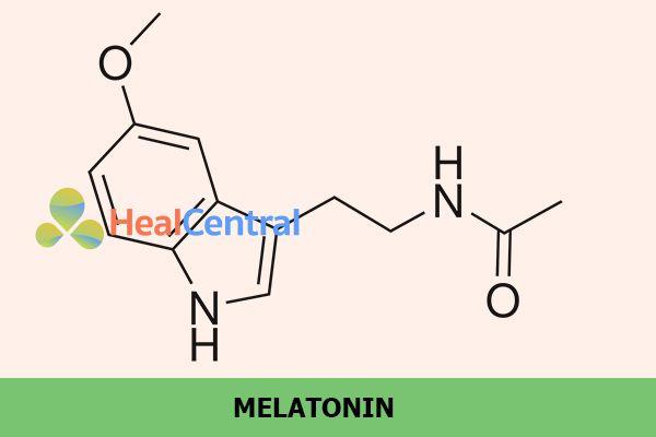 Melatonin là thành phần chính tạo nên công dụng của sản phẩm