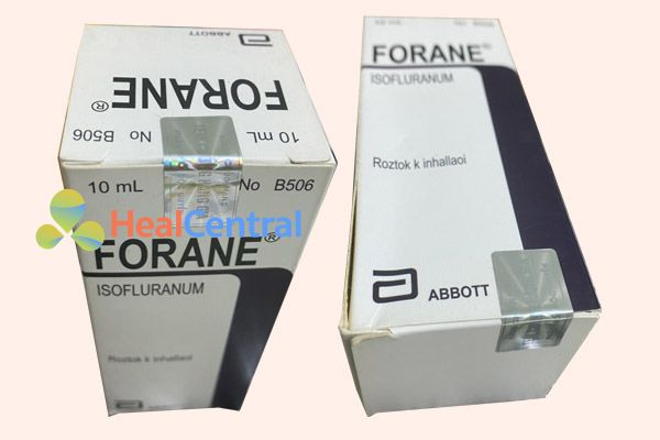 Thuốc mê Forane chính hãng có tem chống giả