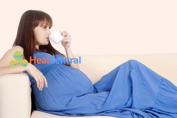 Phụ nữ có thai có thể sử dụng một số loại trà thảo mộc