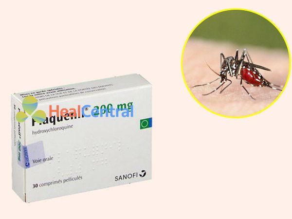 Thuốc Plaquenil điều trị sốt rét