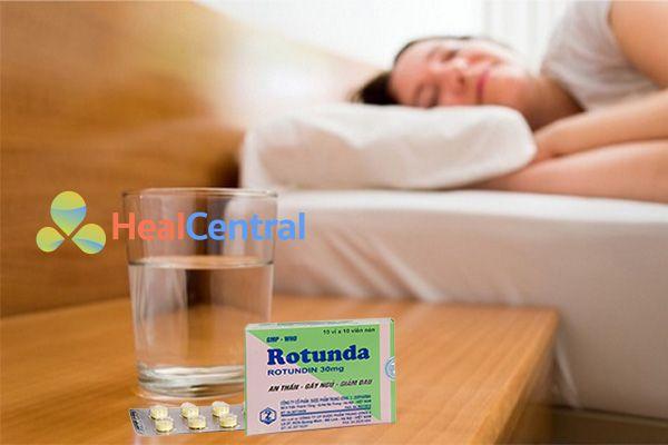 Rotunda có tác dụng trong khoảng 5h