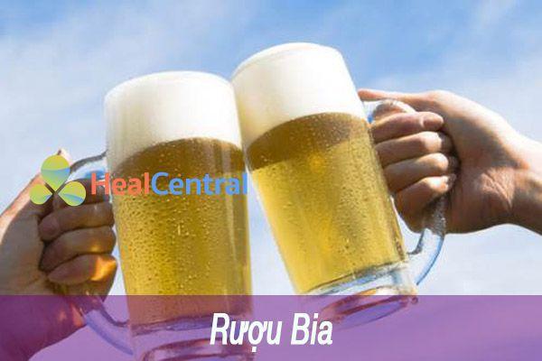 Uống nhiều rượu bia gây tăng huyết áp