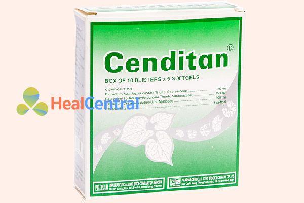 Sản phẩm hỗ trợ điều trị trĩ Cenditan