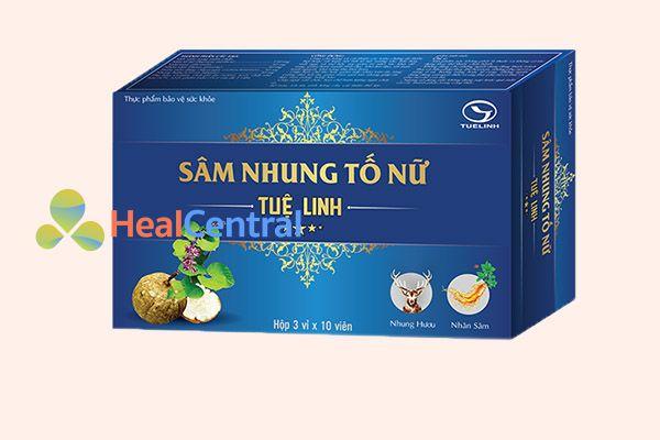 Sản phẩm Sâm Nhung Tố Nữ Tuệ Linh