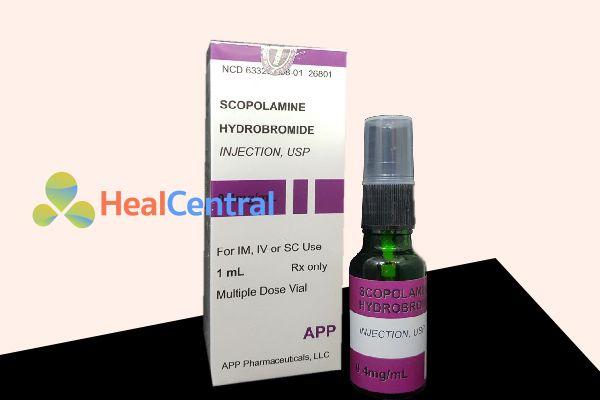 Scopolamine Hydrobromide dạng xịt