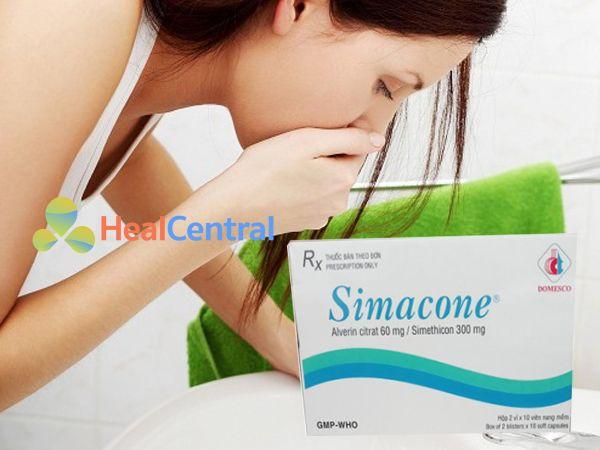 Thuốc Simacone - điều trị rối loạn tiêu hóa