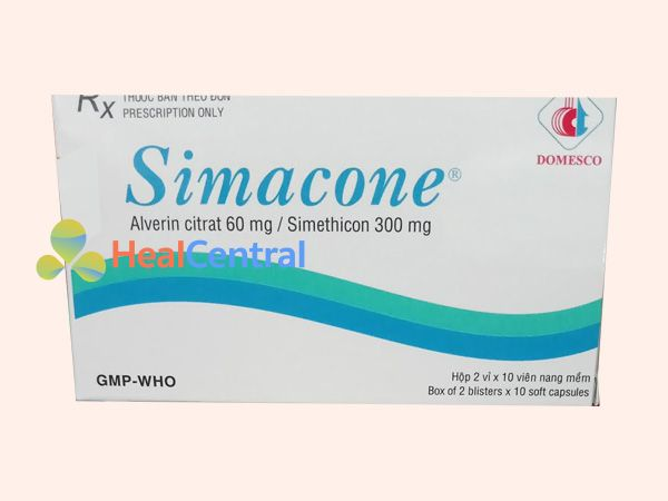 Thuốc Simacone - giảm tình trạng đầy bụng, khó tiêu