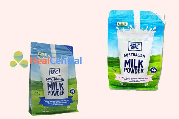 Sữa dinh dưỡng cho người gầy DJ&A