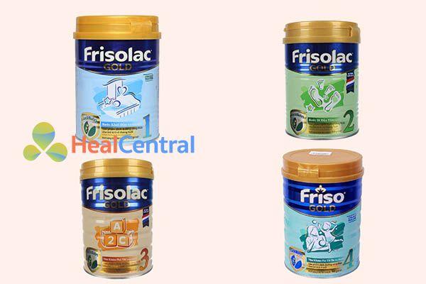 Sữa Frisolac Gold giúp bé tăng cân, tăng chiều cao
