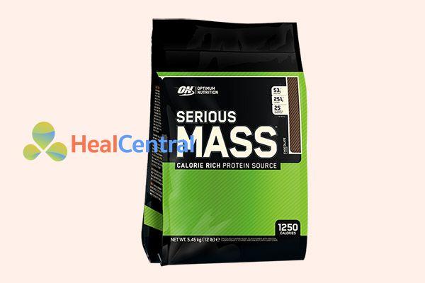 Sữa tăng cơ cho gymer Serious Mass