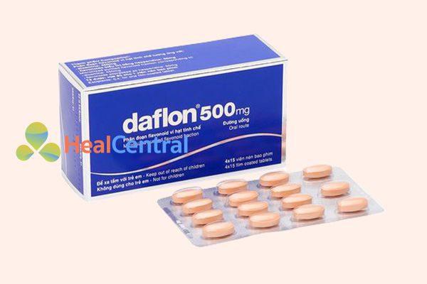 Thuốc Daflon có hoạt chất chính là Diosmin và Doperidin