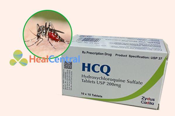 Thuốc HCQ có tác dụng điều trị sốt rét