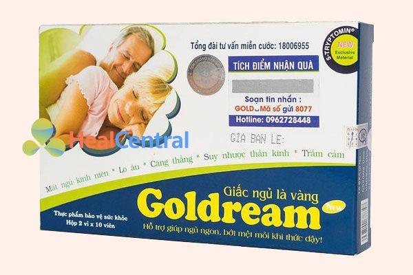 Thuốc GoldDream giúp ăn ngon ngủ tốt