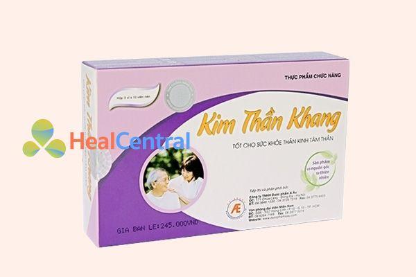 Thuốc ngủ thảo dược Kim Thần Khang