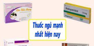 Các loại thuốc ngủ được nhiều người tin dùng