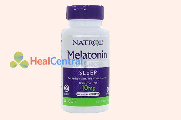 TPCN Melatonin hỗ trợ điều trị bệnh mất ngủ