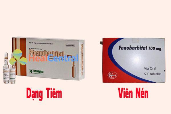 Hai dạng bào chế của Phenobarbital