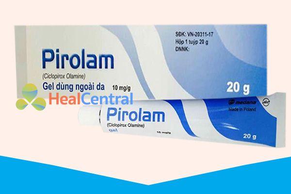 Thuốc Pirolam Gel