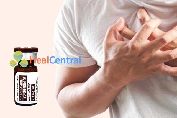 Thuốc Scopolamine kích thích tim đập mạnh