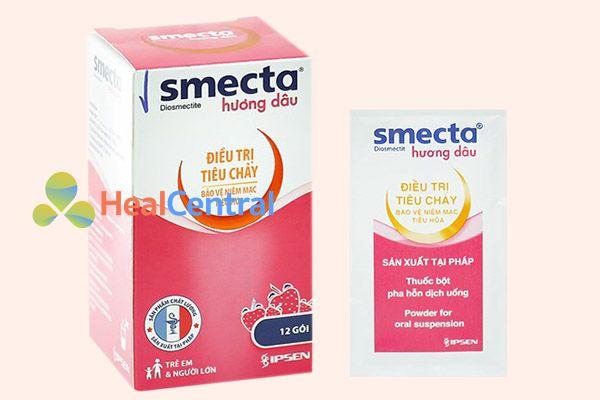 Thuốc Smecta cho trẻ em