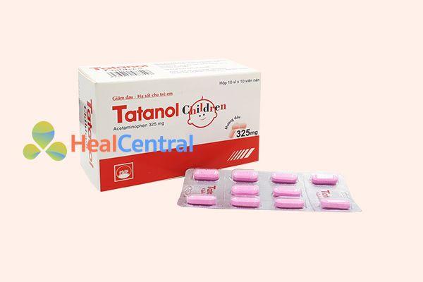 Thuốc Tatanol 325mg