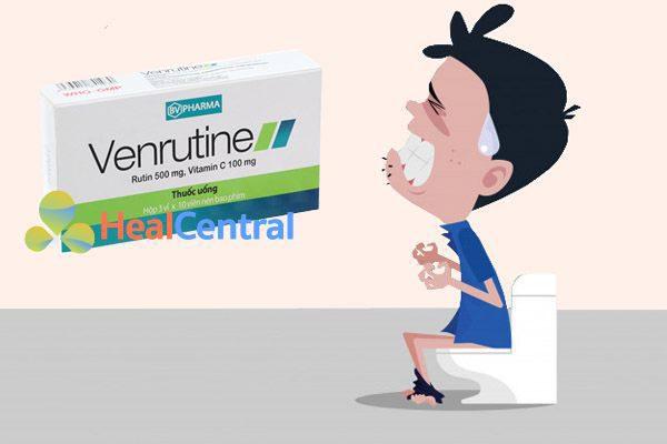 Thuốc Venrutine chữa bệnh trĩ