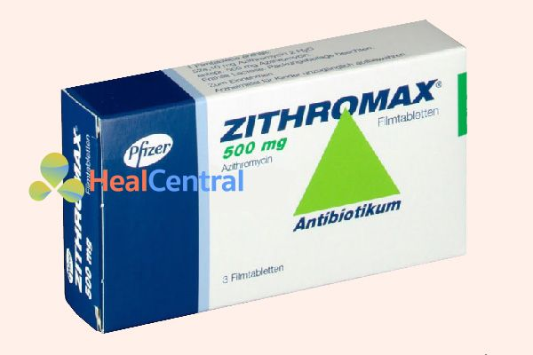 Thuốc Zithromax 500mg