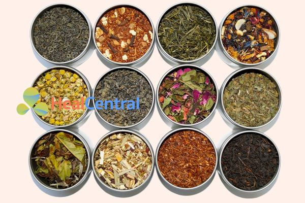 Có nhiều loại trà thảo mộc khác nhau