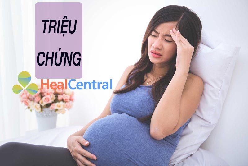 Phụ nữ có thai thường hay bị đau đầu