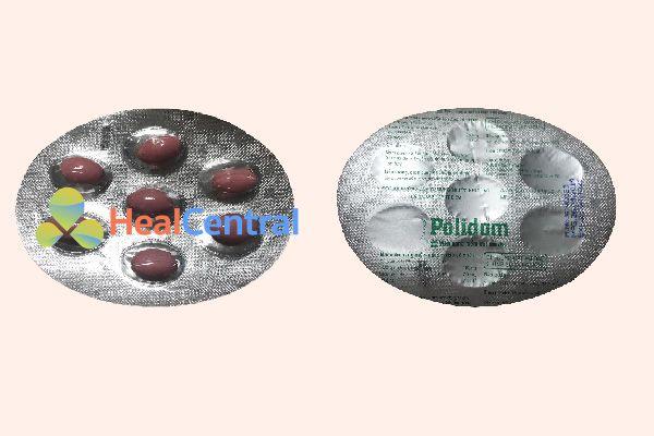 Vỉ thuốc Polidom