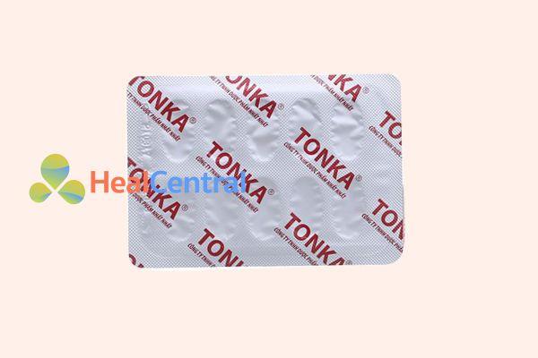 Vỉ thuốc Tonka chính hãng