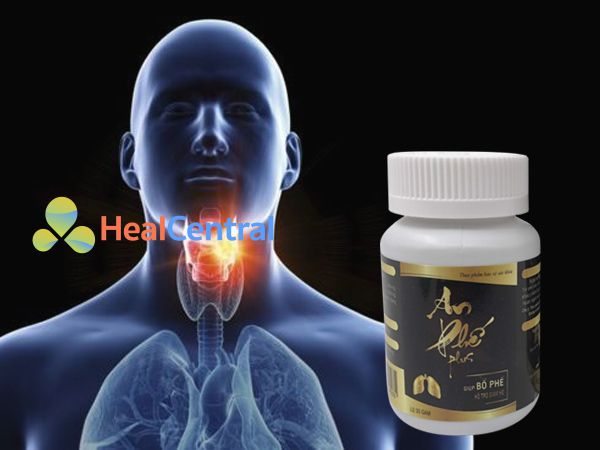 An Phế Plus - hỗ trợ giảm tình trạng viêm họng