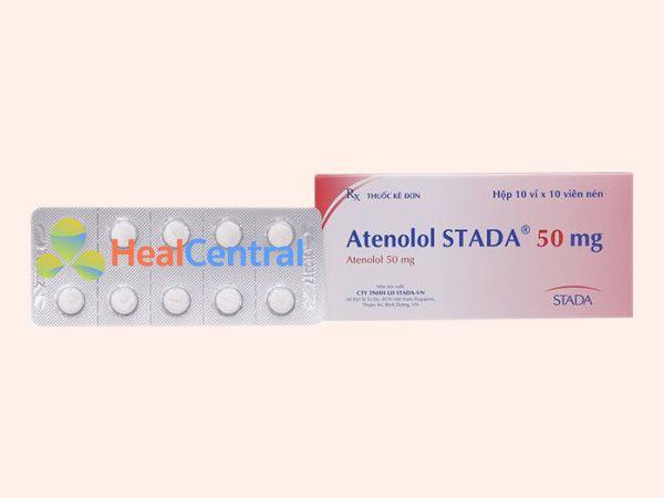 Thuốc Atenolol - điều trị tăng huyết áp