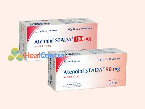 Các dạng bào chế của Atenolol