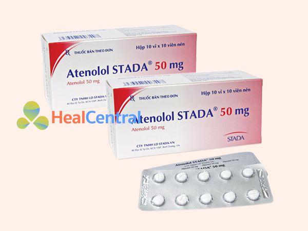 Thuốc Atenolol sản xuất bởi Công ty STADA