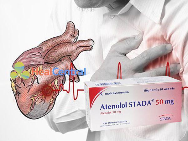 Thuốc Atenolol - điều trị chứng đau thắt ngực