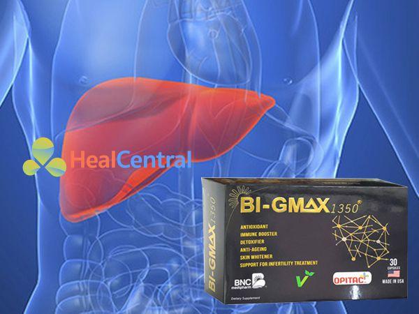 Viên uống Bi - Gmax - tăng cường chức năng gan