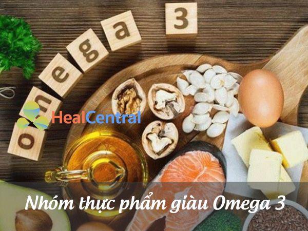 Nhóm thực phẩm giàu Omega 3
