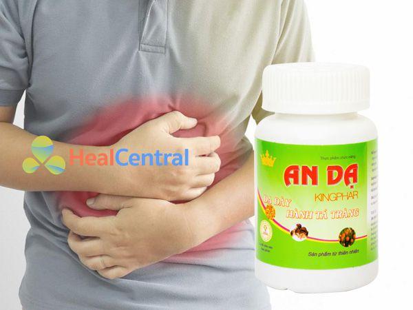 An Dạ Kingphar - cải thiện các triệu chứng đau dạ dày