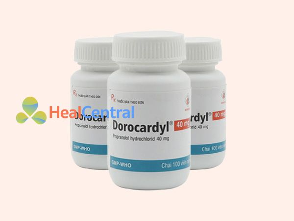 Thuốc DoroCardyl - điều trị cao huyết áp
