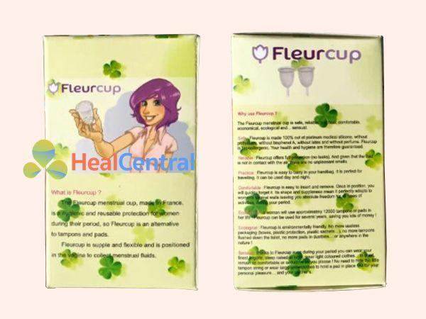 Hình ảnh bao bìa của Cốc nguyệt san Fleurcup