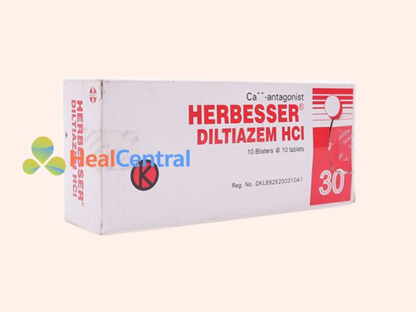 Thuốc Herbesser - điều trị cao huyết áp