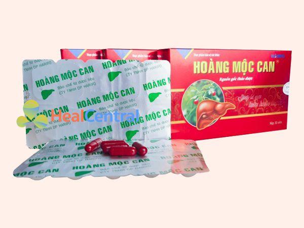 Hoàng Mộc Can sản xuất bởi Công ty Dược vật tư y tế Hải Dương