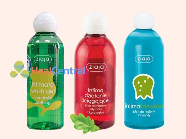 Các dạng mùi hương khác nhau của dung dịch vệ sinh phụ nữ Intima Ziaja