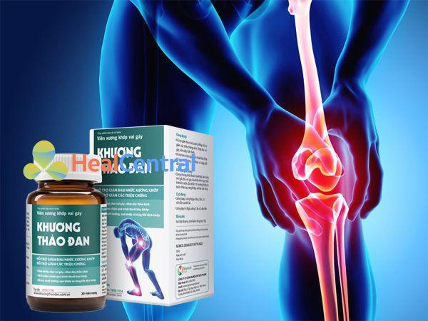 Khương Thảo Đan - cải thiện đau nhức xương khớp